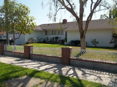 La Habra Single Family Home For Sale: 420 N Euclid Street