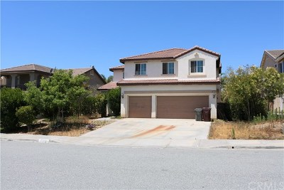 Murrieta Single Family Home For Sale: 37439 Indus Place
