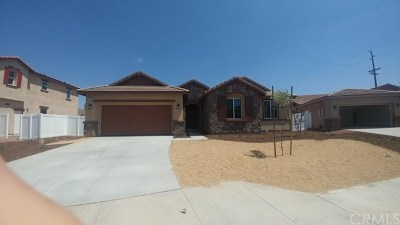 Moreno Valley Single Family Home For Sale: 27960 Aidan Circle