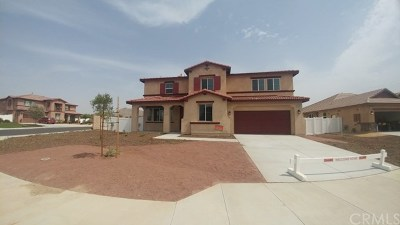 Moreno Valley Single Family Home For Sale: 27942 Aidan Circle