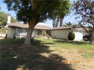 Perris Single Family Home For Sale: 21946 Jean Street