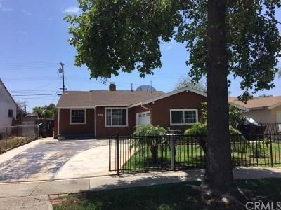 Santa Ana Single Family Home For Sale: 1666 W Cubbon Street