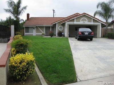 Rancho Cucamonga Single Family Home For Sale: 6956 La Paz Court
