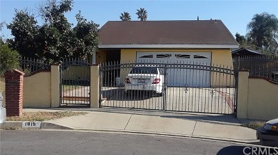 Rialto Single Family Home For Sale: 1019 N Verde Avenue