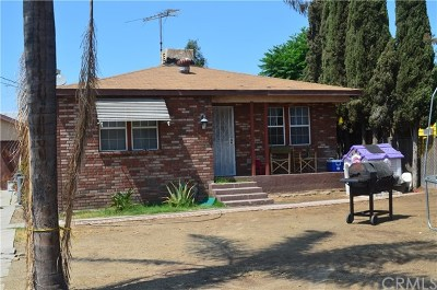 Fontana Single Family Home For Sale: 15816 Rose Avenue