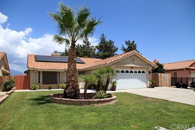 Hemet Single Family Home For Sale: 1000 Gloria Drive