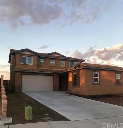 Menifee CA Single Family Home For Sale: $412,000