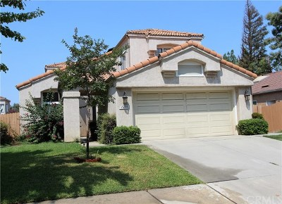 Redlands Single Family Home For Sale: 1239 Via Palermo