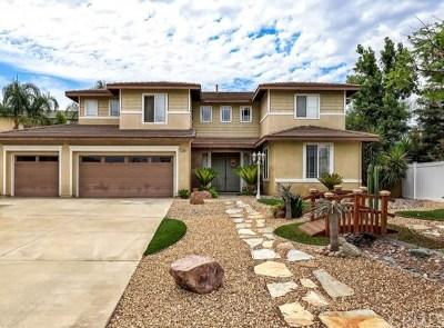 Riverside, Temecula Single Family Home For Sale: 19165 Zamora Way