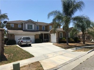 Murrieta Single Family Home Active Under Contract: 28214 Basswood Way
