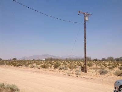 Newberry Springs Residential Lots & Land For Sale: Manitee Avenue