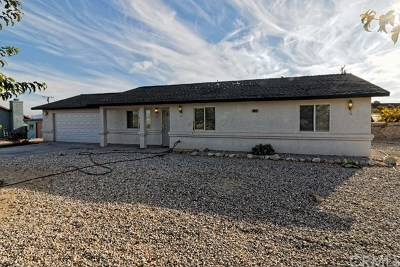 Lucerne Valley Single Family Home For Sale: 10045 Ladera Avenue