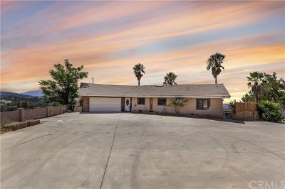 Cherry Valley Single Family Home For Sale: 9215 Mountain View Avenue