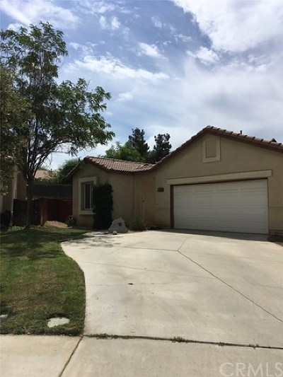 Beaumont Single Family Home For Sale: 1147 Desert Fox Court