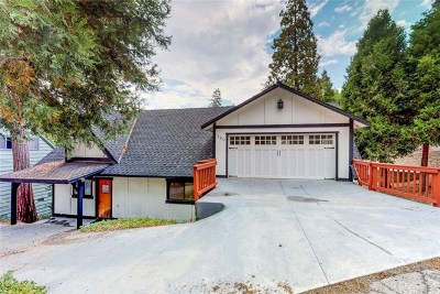 Lake Arrowhead Single Family Home For Sale: 190 Joaquin Miller Road