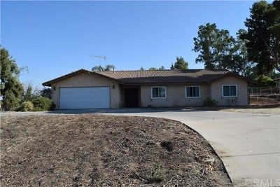Perris Single Family Home For Sale: 23955 Rhodes Avenue