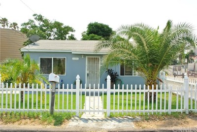 Riverside Single Family Home For Sale: 11542 Anacapa Place