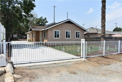 Norco Single Family Home For Sale: 4168 Old Hamner Road