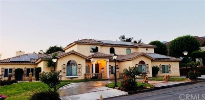 Yucaipa Single Family Home For Sale: 37220 Oak Veiw