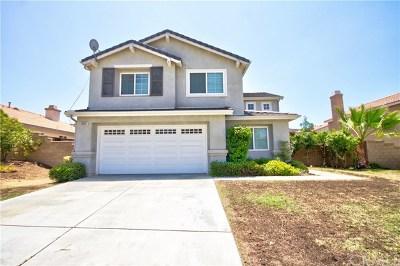 Menifee Single Family Home For Sale: 28391 Saddlecrest Street