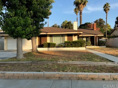 Riverside Single Family Home For Sale: 8778 Continental Drive