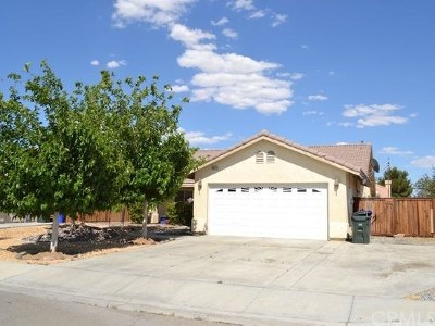 Adelanto Single Family Home For Sale: 18621 Laurie Lane