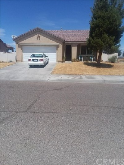 Adelanto Single Family Home For Sale: 11858 Cool Water Street