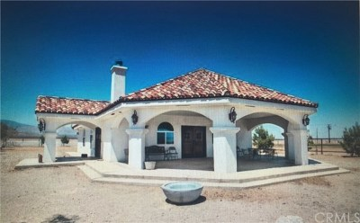 Rosamond Single Family Home For Sale: 18374 Gaskell Rd