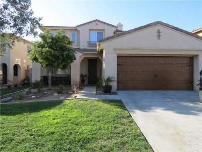 Winchester Single Family Home For Sale: 34625 Shallot Drive