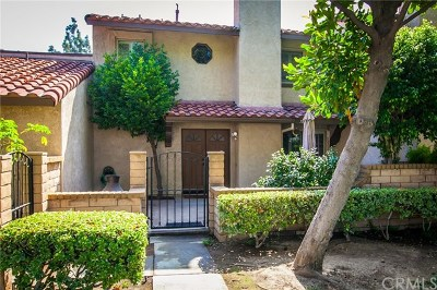 Rancho Cucamonga Condo/Townhouse For Sale: 7820 Amador Place