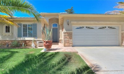 Beaumont CA Single Family Home For Sale: $349,999