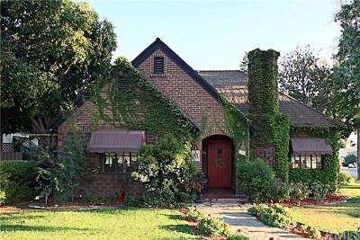 Pomona Single Family Home For Sale: 704 E Jefferson Avenue