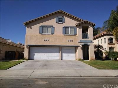Moreno Valley Single Family Home For Sale: 25830 La Barca Road