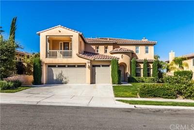 Corona Single Family Home For Sale: 7730 Sanctuary Drive