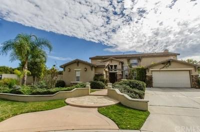 Riverside, Temecula Single Family Home For Sale: 8092 Citricado Lane