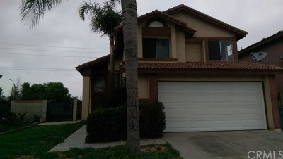 Perris Single Family Home For Sale: 892 Dolphin Drive