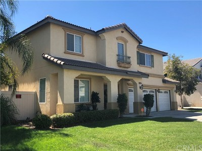 Moreno Valley Single Family Home For Sale: 25305 Courtney Drive