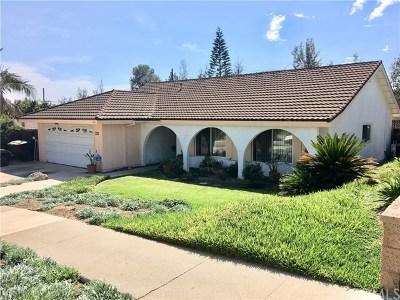 Brea Single Family Home For Sale: 1215 Arrow Wood Drive