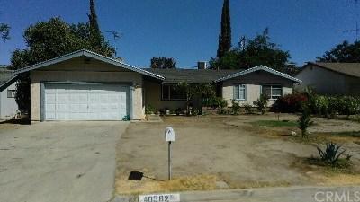 Hemet Single Family Home For Sale: 40362 Revere Avenue