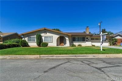 Yucaipa Single Family Home For Sale: 34780 Pleasant Grove Street