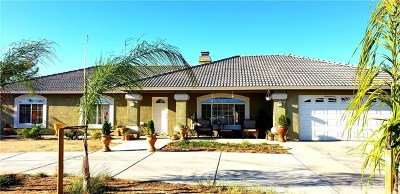 Hesperia Single Family Home For Sale: 18936 Rocksprings Road