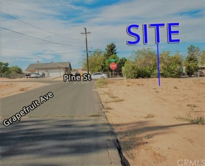 Hesperia Residential Lots & Land For Sale: Pine