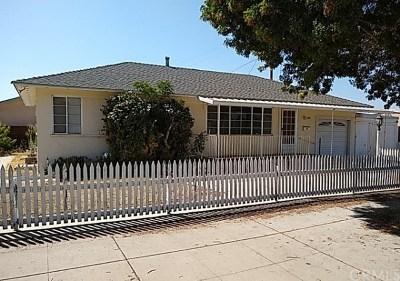 Santa Maria Single Family Home For Sale: 1111 S Concepcion Avenue