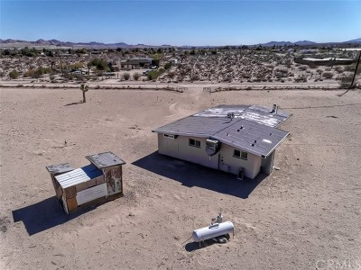 Lucerne Valley Single Family Home For Sale: 9512 Blackhawk