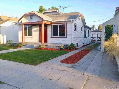 Los Angeles Single Family Home For Sale: 1654 W 65th Street
