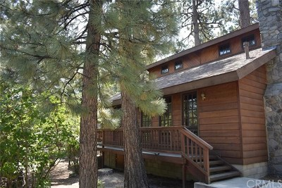Wrightwood Single Family Home For Sale: 1219 Robin Lane