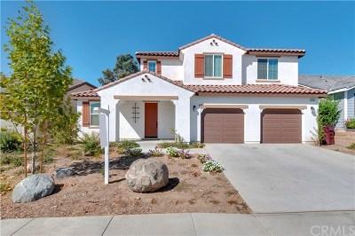 Wildomar Single Family Home For Sale: 24098 Montecito Drive