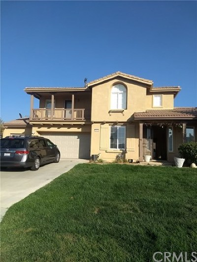 Yucaipa Single Family Home For Sale: 13852 Comanche Court