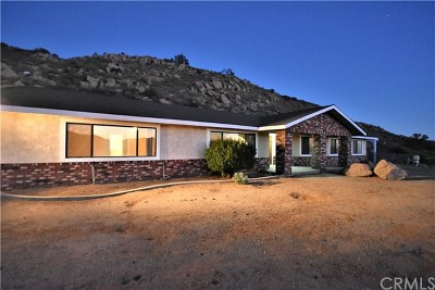 Moreno Valley Single Family Home For Sale: 24900 Valley Ranch Road