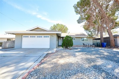 Adelanto Single Family Home Active Under Contract: 18145 Lilac Road